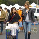 Sophia Bush – Shopping at the Melrose Trading Post in LA - 454 x 564