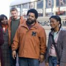 Jill Marie Jones (Ronnie), Dash Mihok (Cyrus), Ice Cube (Curtis), Keke Palmer (Jasmine) and Tasha Smith (Claire) star in Fred Durst's The Longshots. Photo by: Tony Rivetti Jr./Dimension Films, 2008