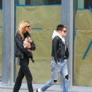 Kristen Stewart and Stella Maxwell out in New York City - 454 x 590