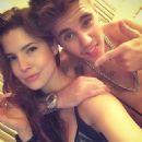 Justin Bieber and Amanda Cerny