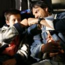 From left: : Adrian Alonso and Eugenio Derbez in UNDER THE SAME MOON. Photo Credit: Courtesy of Fox Searchlight Pictures
