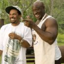 Mike Epps and Michael Clarke Duncan in Malcolm D. Lee comedy 'Welcome Home Roscoe Jenkins'
