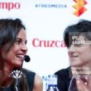 Spanish actress Elena Anaya (L) and Spanish director Beatriz Sanchis attend a press conference during the 17th Malaga Film Festival 2014 at Teatro Cervantes on March 27, 2014 in Malaga, Spain. - 454 x 303
