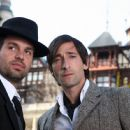Stephen (Mark Ruffalo) with Bloom (Adrien Brody) in Rian Johnson drama romance 'The Brothers Bloom.'