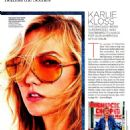 Karlie Kloss Lucky Magazine October 2014