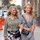 Christie and Sailor Brinkley – Out for lunch in New York City - 454 x 568