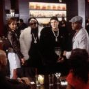 Boris Kodjoe, Nicole Ari Parker, Reggi Wyns, Erik Weiner, Taye Diggs and Sanaa Lathan in Fox Searchlight's Brown Sugar - 2002