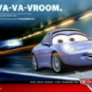 Sally (voiced by Bonnie Hunt) in Buena Vista Pictures Distribution's Cars - 2006