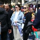 Kendall Jenner and Hailey Baldwin – March at the anti-gun 'March For Our Lives' in LA