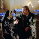 Linda Hunt and Kevin Costner in Universal's Dragonfly - 2002