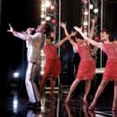 Eddie Murphy as James 'Thunder' Early with (L to R) Jennifer Hudson as Effie White, Beyoncé Knowles as Deena Jones and Anika Noni Rose as Lorrell Robinson in Dreamgirls - 2006