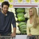 Zack (Dane Cook) and Amy (Jessica Simpson) in Lions Gate Films', Employee of the Month - 2006