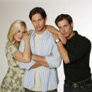 Tori Spelling, James O'Shea and Philipp Karner in Kiss the Bride. - 454 x 436