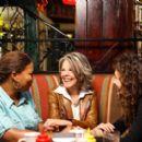 Nina Brewste (Queen Latifah), Bridget Cardigan (Diane Keaton) and Jackie Truman (Katie Holmes) in Millennium Films' Mad Money.