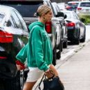 Hailey Baldwin – Attending the Vous church conference in Miami