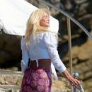 Victoria Silvstedt at Hotel du Cap in Antibes - 454 x 599