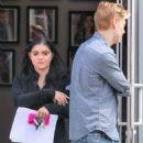 Ariel Winter in Black Spandex with her boyfriend in Los Angeles - 454 x 681