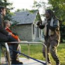 Josh Hartnett, Dakota Goyo and Samuel L. Jackson in Resurrecting the Champ - 2007. ©2007 Yari Film Group Releasing.