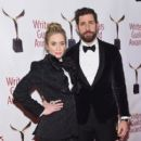Emily Blunt and John Krasinski :  71st Annual Writers Guild Awards - New York Ceremony - 408 x 600