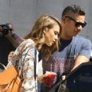 Jessica Alba Street Style – Out in Hollywood, September 2015 - 454 x 577