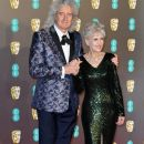 Brian May attends the EE British Academy Film Awards at Royal Albert Hall on February 10, 2019 in London, England - 384 x 600