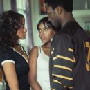 Dania Ramirez as Alex (left), Kerry Washington as Fatima (center), Anthony Mackie as Jack