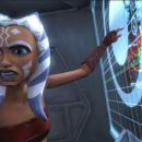 Padawan learner Ahsoka gives her outspoken opinion in a scene from the upcoming 'Star Wars: The Clone Wars,' the first-ever animated Star Wars project from Lucasfilm Animation and Star Wars creator George Lucas. 'Star Wars: The Clone Wars'
