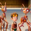 "Kreela, as voiced by Regina King, Lucas, as voiced by Zach Tyler Eisen and Hova, as voiced by Julia Roberts in Warner Bros. Pictures' animated family adventure ""The Ant Bully."" Photo courtesy of Warner Bros. Pictures"