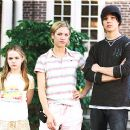 (Left to right) Morgan York, Brittany Snow, and Max Thieriot. ©2005. Walt Disney Pictures.