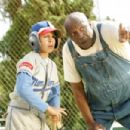 Angel (Jake T. Austin, left) and Cool Papa Bell (Louis Gossett Jr.) in THE PERFECT GAME. Photo credit: Vivian Zink.