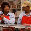 Queen Latifah and Terrence Howard in The Perfect Holiday, a Yari Film Group Release. ©2007 Yari Film Group Releasing.