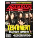 Alex Skolnick, Chuck Billy, Eric Petersen (II), Greg Christian, Gene Hoglan - The Aquarian Weekly Magazine Cover [United States] (8 February 2012)