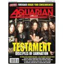 Alex Skolnick, Chuck Billy, Eric Petersen (II), Greg Christian, Gene Hoglan - The Aquarian Weekly Magazine Cover [United States] (8 February 2012)