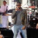 """Singer Usher performs on NBC's """"Today"""" at the NBC's TODAY Show on September 5, 2014 in New York, New York"""