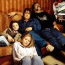 Finn Atkins, Kelly Thresher, Kathy Burke and Ricky Tomlinson in Once Upon A Time in the Midlands