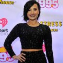 Demi Lovato attends HOT 99.5's Jingle Ball 2014, Presented by Mattress Warehouse at the Verizon Center on December 15, 2014 in Washington, D.C