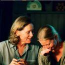 Left: Liv Ullman as Marianne; Right: Julia Dufvenius as Karin; Photo by: Bengt Wanselius. - 454 x 702