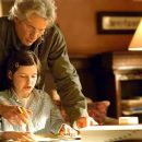 Richard Gere stars as Saul Naumann and Flora Cross as Eliza Naumann in Fox Searchlight's drama The Bee Season - 2005