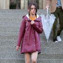 Selena Gomez – Woody Allen Set movie in NYC - 454 x 677