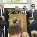 (Left to Right) Jim Martinez (Linn), Frank Perkins (Baker Hall), Matt Parish (Chambers) and Bill Gregory (Brad Henke) in The Zodiac 2006. Directed by Alexander Bulkley