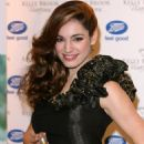"""Kelly Brook - Promoting Her New Fragrance """"Vivacious"""" At Boots In London, 20.11.2008."""