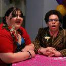 Ashley Fink (Sabrina), Robin DeJesus (Rudy) in Fat Girls - 2007