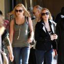 Lindsay Lohan Loads Up for the Holidays