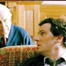 Ian Holm as Dr. Ernesto Morales with Chris Eigeman as Jake Singer in Oren Rudavsky drama romance The Treatment