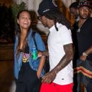 Lil Wayne and Christina Milian in Philly