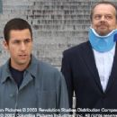 Adam Sandler and Jack Nicholson in Columbia's Anger Management - 2003