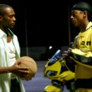 Tech (Anthony Mackie) and Noah Cruise (Wesley Jonathan) in Sport movie Crossover 2006, from Sony Pictures Releasing