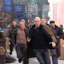 "Freddy Bouciegues ('Tommy'), Garrett Hedlund (""Billy Darley""), Kanin Howell ('Baggy') and Dennis Keiffer ('Jamie') in Death Sentence - 2007 - 454 x 302"