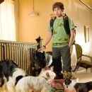 Jake T. Austin plays Bruce a mad-scientist-genius-gadget-making-machine. He rigs up all of the rooms in the hotel to meet the dog's favorite hobbies. You should see the super-sweet fetch room!