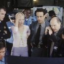 Ray Liotta (left), Anne Heche (second from left) and Robert Duval (second from right) in New Line's John Q - 2002